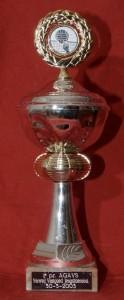1e prijs AGAVS - Verweij Vastgoed Jeugdtoernooi 30-3-2003
