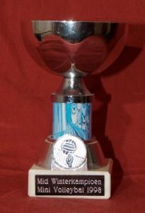 Mid Winterkampioen - Mini Volleybal 1998